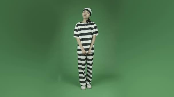 指を交差を囚人