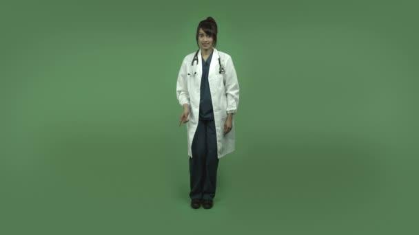 ženský lékař s tajemstvím