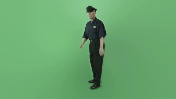 policista mlčení známek