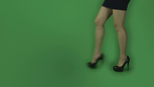 chůzi nohy