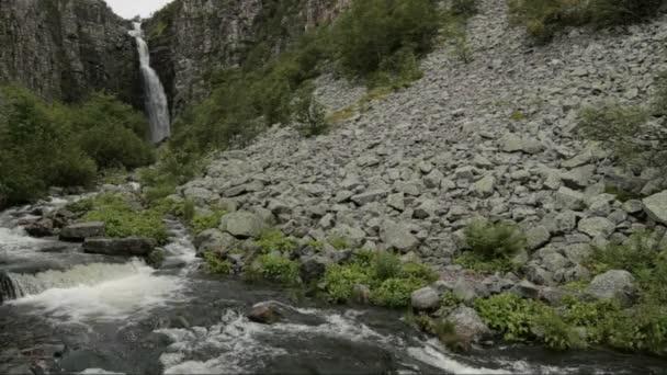 River in National Park Fulufjället and Njupeskär
