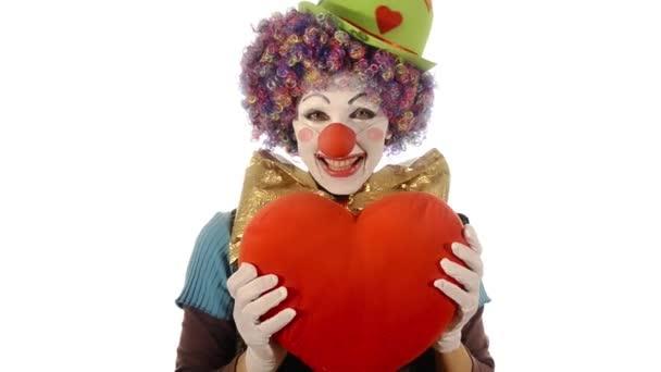 a szív, a bohóc