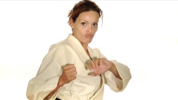 karate žena