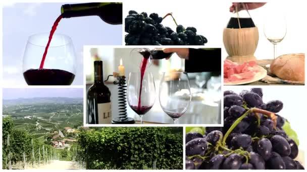 víno koláž