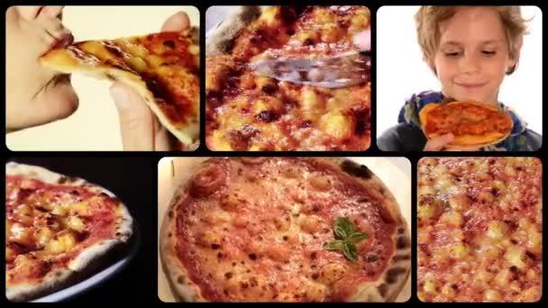 Pizza, koláž