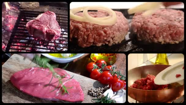 maso, složení