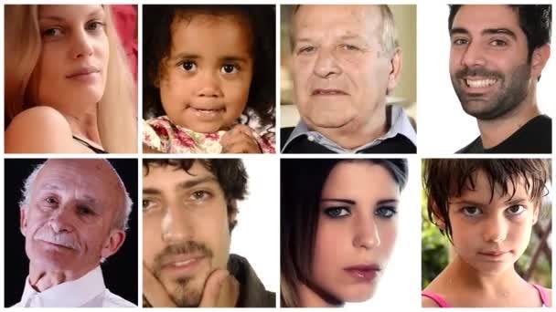 persone, collage