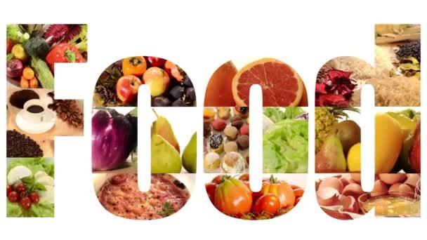 potraviny koláž