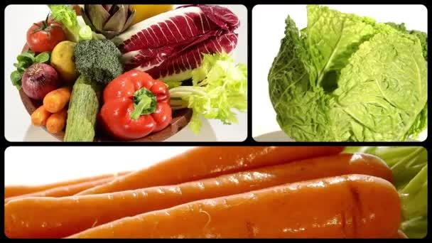 Gemüse, Montage