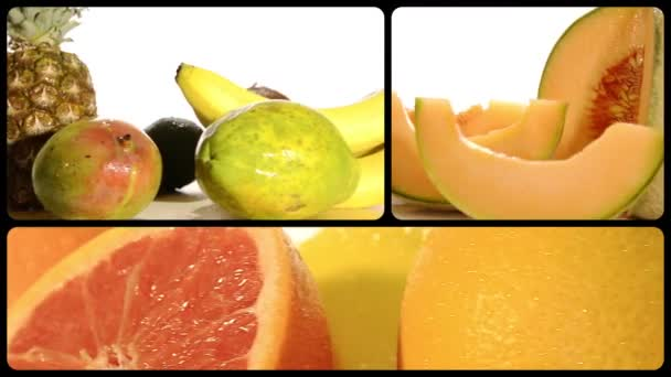 Fruits, montage