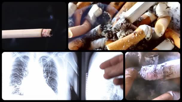 veszély-dohányzás sorozat, négy