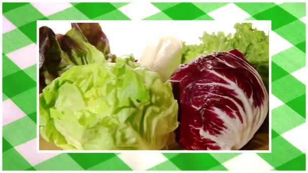 zöldség szerkesztett sorozat több mint a terítő zöld háttér