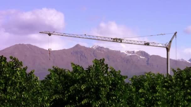 Gammon v alpské panorama
