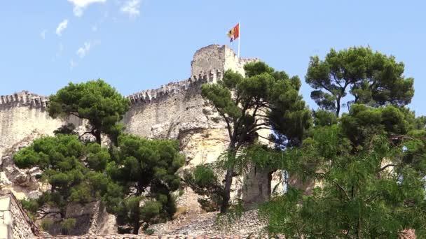 středověký hrad v provence