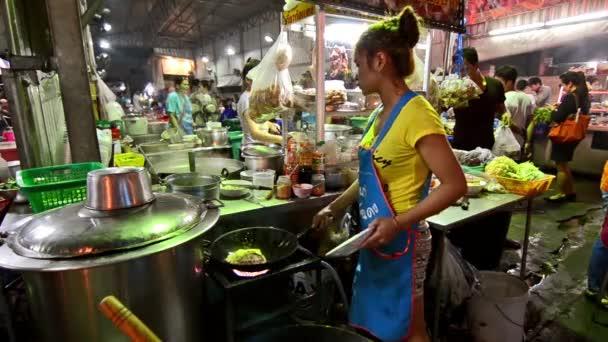 Thailand, Bangkok, Traditional thai street food.