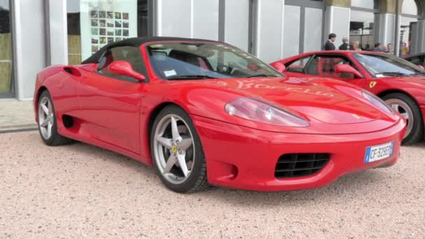 Cuorgnè, Italy, May 2014. Ferrari cars.