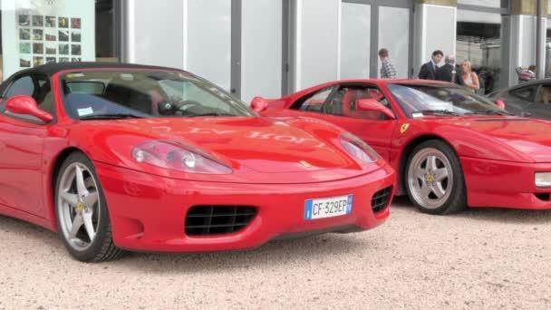 Cuorgnè, Italy, May 2014. Ferrari F340 Cabrio.