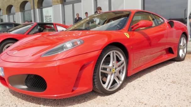 Cuorgnè, Italy, May 2014. Ferrari F430.