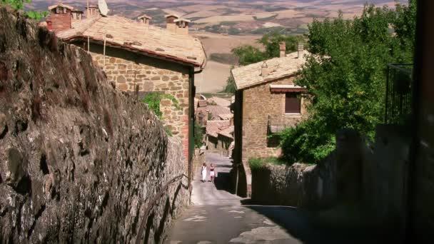 Toskana, Straße von Montalcino