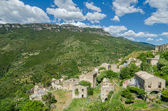 Fotografia Ghost town Gairo Vecchio (Sardinia, Italy)