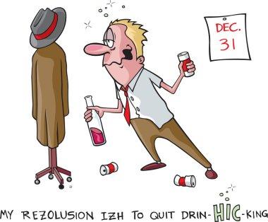 Stop drinking resolution