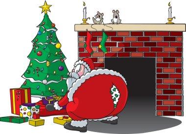 Santa Rips Pants