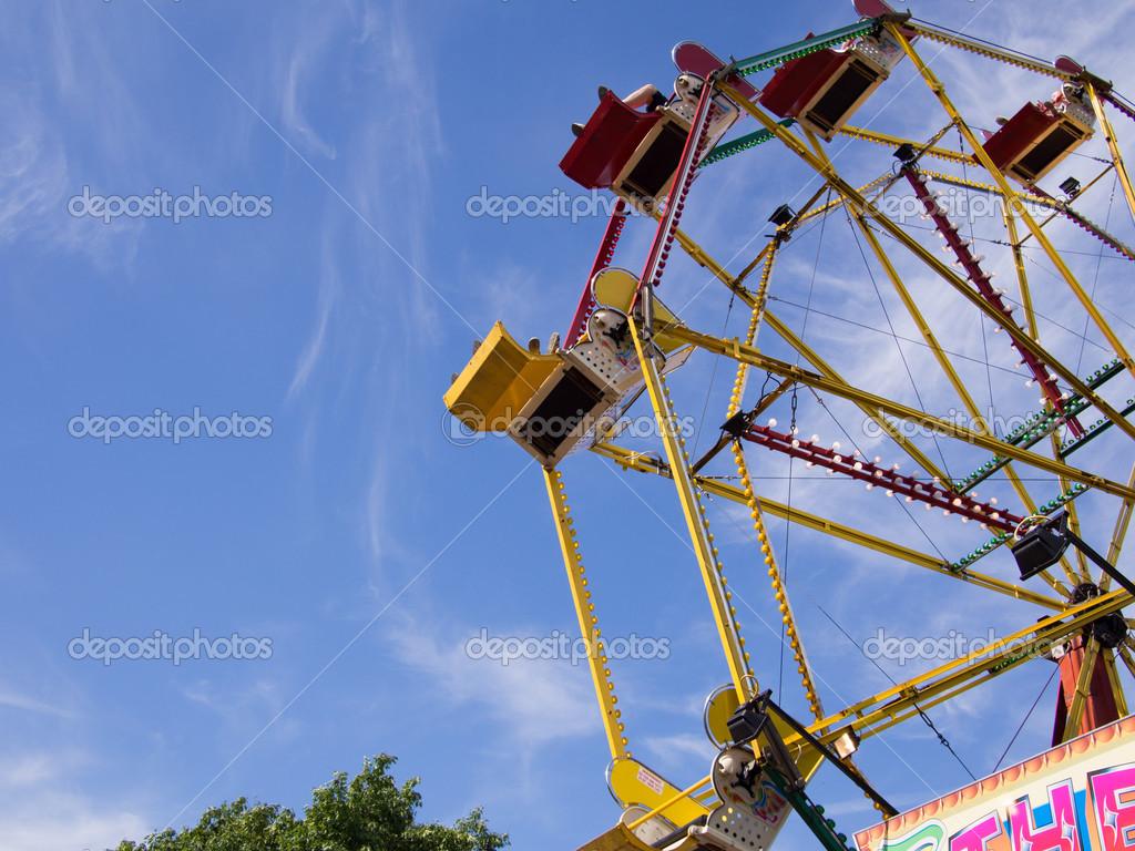 rueda de la fortuna — Foto de stock © fantasticbunny #30411273
