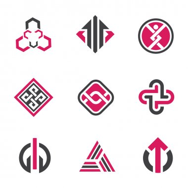 Graphic symbols and technology concept , social network