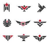 Fotografia esercito e distintivi militari e forza simboli logo simbolo