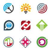 Business-Logo für kreative und freigeistige Innovatoren in sozialen Netzwerken