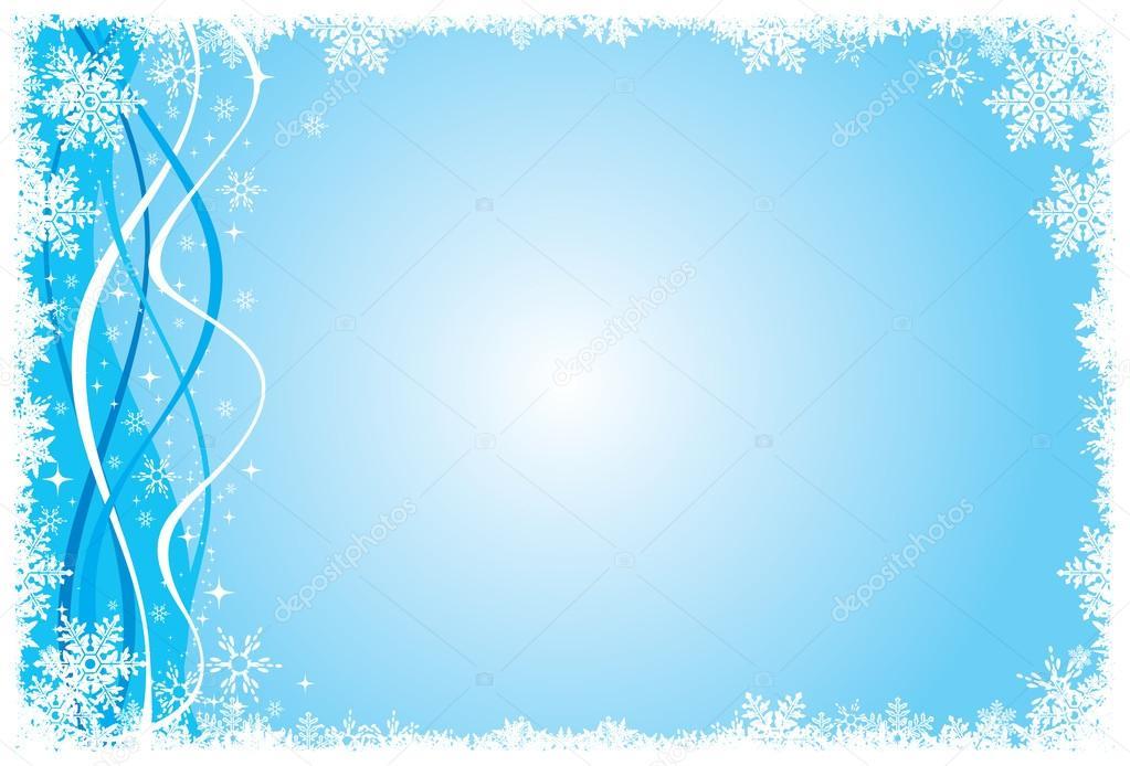 Blue white snow holiday background wallpaper stock for Foto inverno per desktop