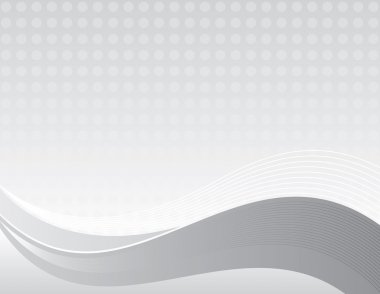 Flowing Grey business background