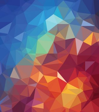 Background modern texture triangle geometry universe creation