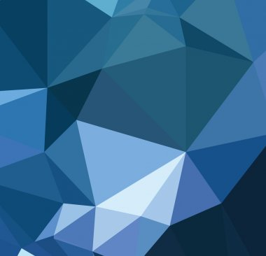 Background modern texture triangle geometry blue abstract