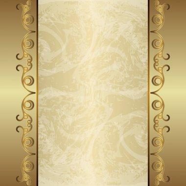Vintage gold background