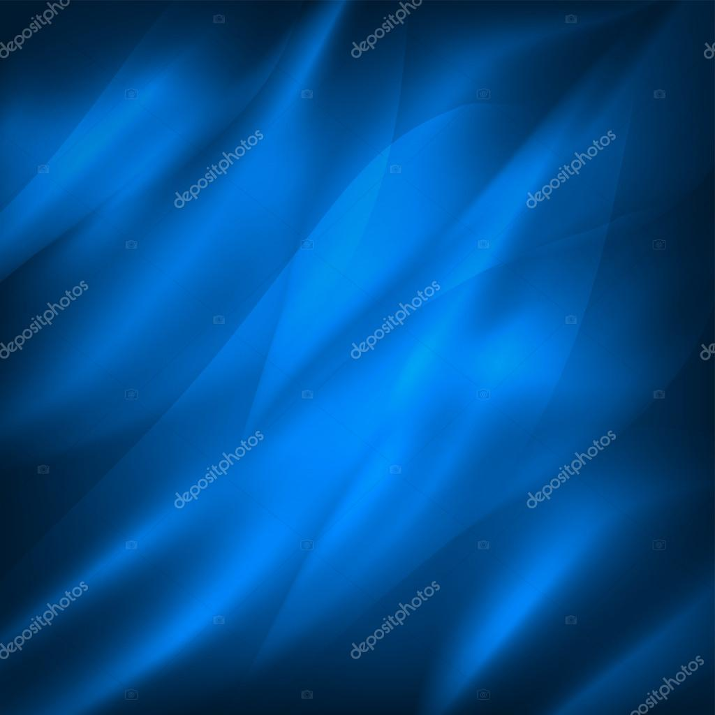 Blue background with waves, the sea surface or shiny silk