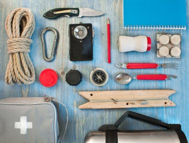 Travel kit modern traveler scout