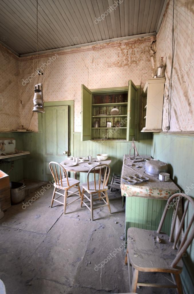 Kitchen In Abandoned House In Ghost Town Stock Photo Image By C Jeepsfotobox 36427197