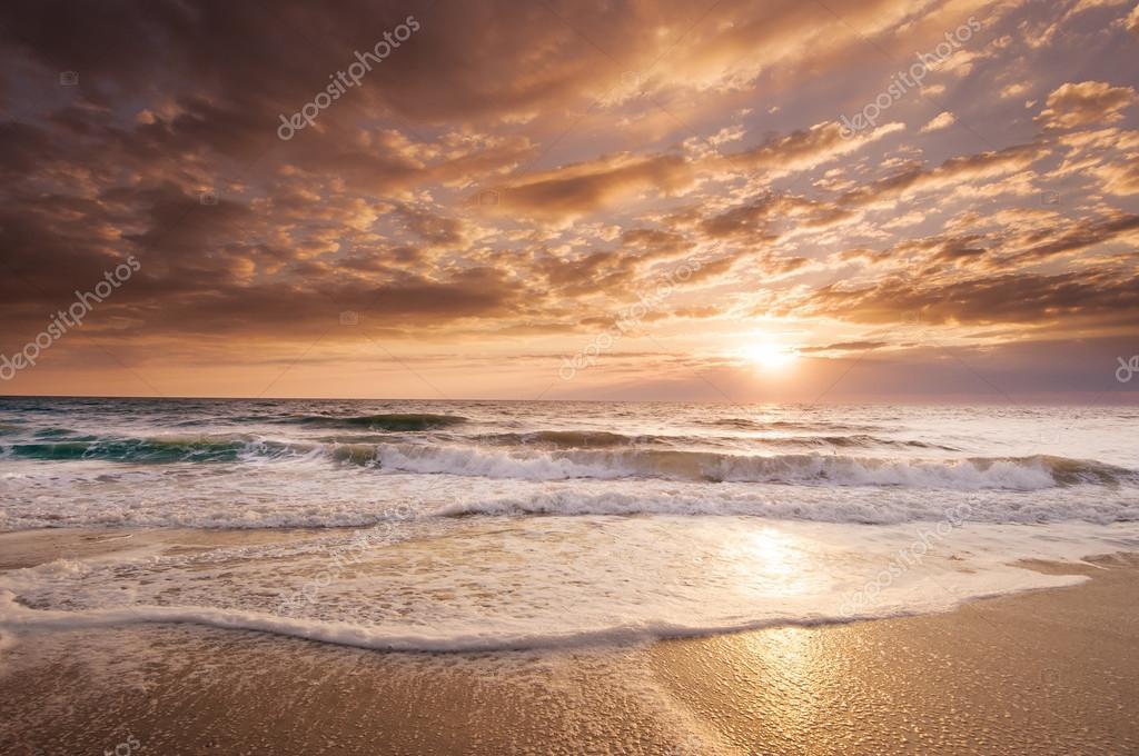 Golden East Coast Florida Sunrise