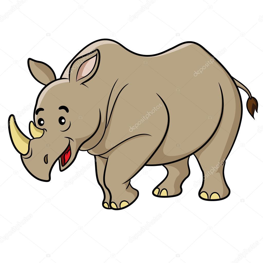Desenho De Rinoceronte Vetor De Stock 169 Rubynurbaidi