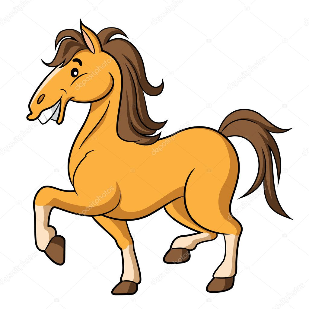 ᐈ Cartoon Horses Stock Images Royalty Free Cartoon Horse Pictures Download On Depositphotos
