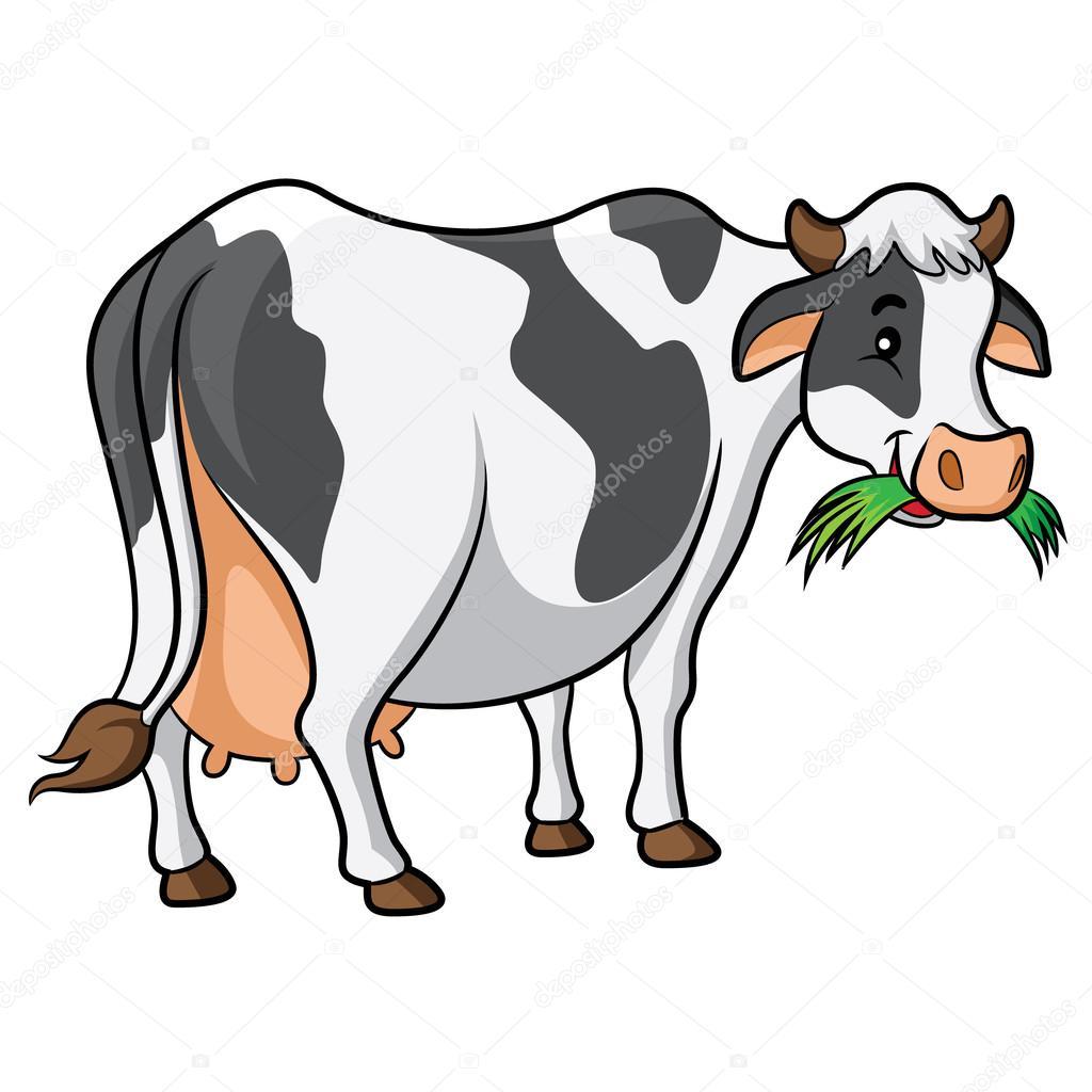 Dessin anim vache image vectorielle rubynurbaidi 38369141 - Vache normande dessin ...
