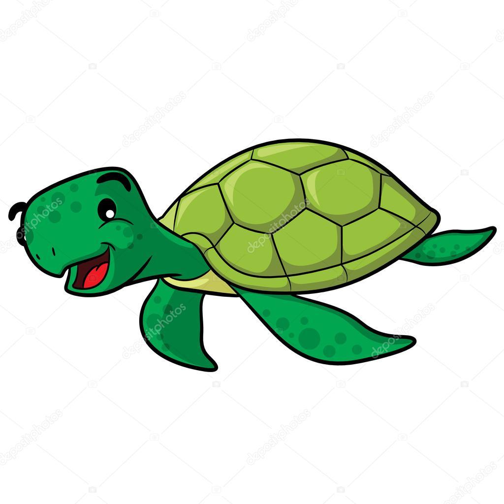 sea turtle cartoon stock vector rubynurbaidi 45008843 rh depositphotos com sea turtle vector file sea turtle vector image