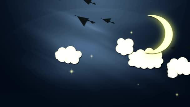 Nový rok - měnící den opakování animace