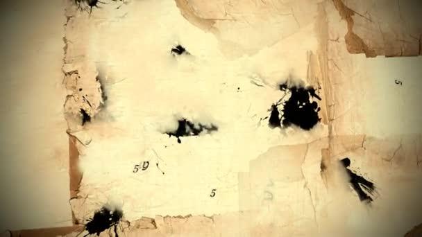 rok koně kreslit 2014 černého inkoustu - opakování animace