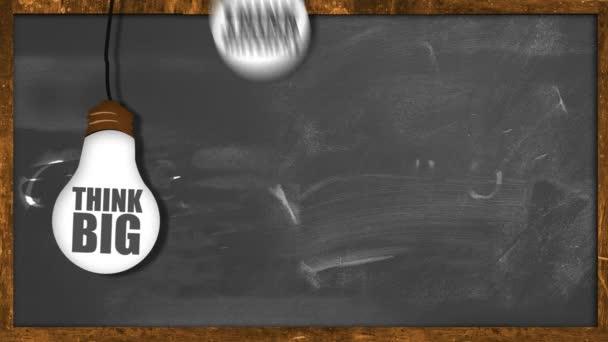 Buďte kreativní, opakování animace na tabuli
