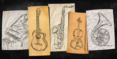 Art Instruments music background
