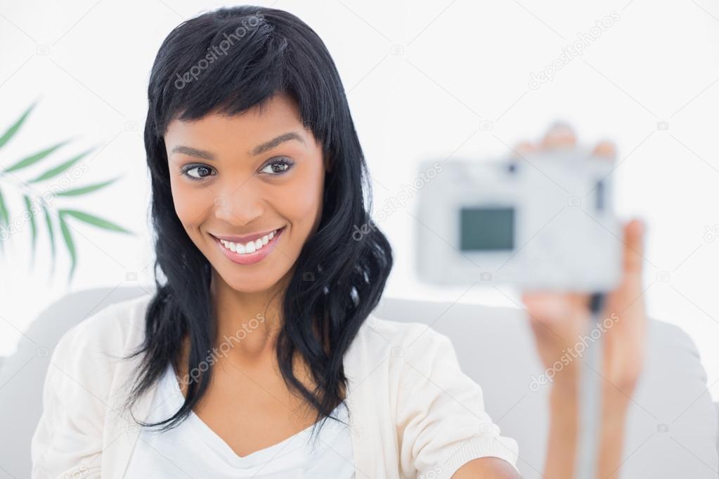 velké kořistí černé ženy