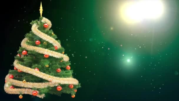 vysoké rozlišení záběry pozadí - vánoční stromeček Gala