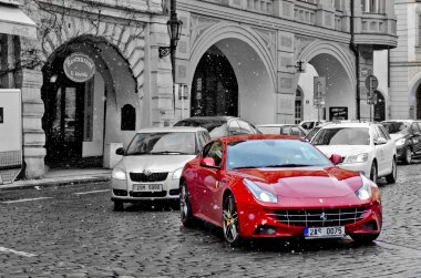 Follow Ferrari